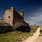 Ruinas en el camino.