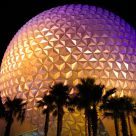 EPCOT Center at night