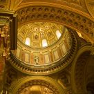 Inside the St. Stephen's Basilica