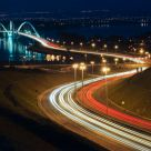 The lights and the Bridge of the Brasília