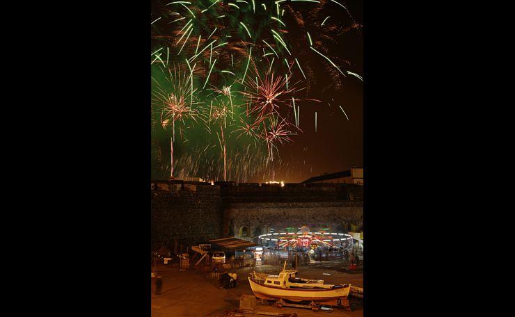 Festivities under the Fort