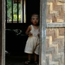 Child in a Burma village