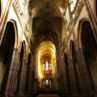 St. Vitus Cathedral Interior - back to front