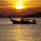 Sunset in Thailand