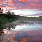 Spring Prairie Sunrise