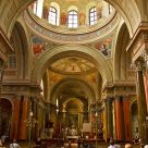 Inside of the Basilica in Eger
