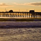 End of the Day, San Clemente Pier