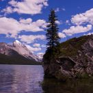 Maligne Lake in Summer