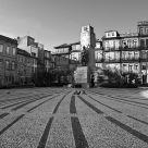 Plaza en Oporto