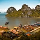 some island in Ha Long Bay