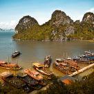 some island in Ha Long Bay