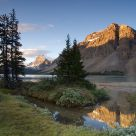 Sunrise at Bow Lake 2