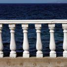 Ocean balustrade