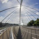 Bridge of the TGV Train Station in Liège