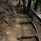 Escalera a la montaña