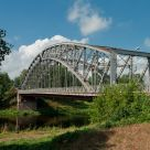 Arch bridge over Msta