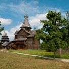 A wooden church
