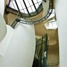 Inside of the museum Guggenheim