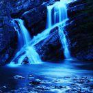 Moonlit Cameron Falls