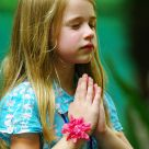Little Girl's Pray