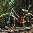 Rainbow bycicle