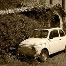 A vintage FIAT 500 cc.