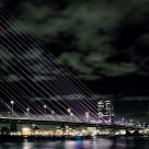 Night at Erasmus bridge