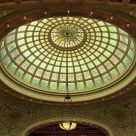 Tiffany Dome in the Old Chicago Library