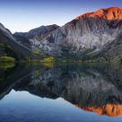 Convict Lake Mirror Reflection