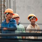 Young vietnamese builders