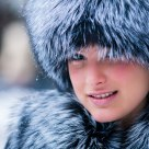 Russian winter girl