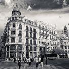 Calle Xativa en Valencia