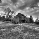 Woodson Mill in B&W