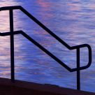 Handrail To The Water's Edge