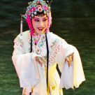 an Actress of a China Local Opera on Stage