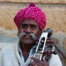 a Rajasthani musician