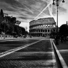 Colosseo..Via dei Fori Imperiali..Roma