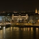 Golden night at Budapest