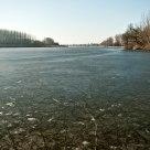 Frozen Danube