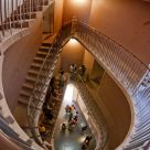 oval staircase