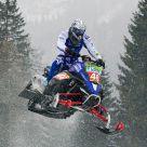 Italian championship snowmobile...