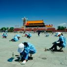 Cleaning Tiananmen