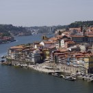 The Douro river in Porto city