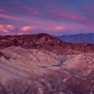 Dawn at Zabriskie Point