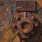 Winch detail: study in rust