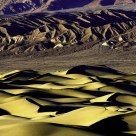 Mesquite Flat Dunes in late afternoon