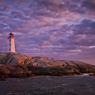 Sunset at Peggy's Cove