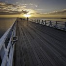 Autumn sunrise at Shorncliffe