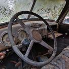 Inside Old Truck