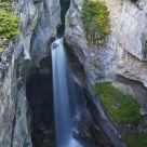 Maligne Canyon Falls